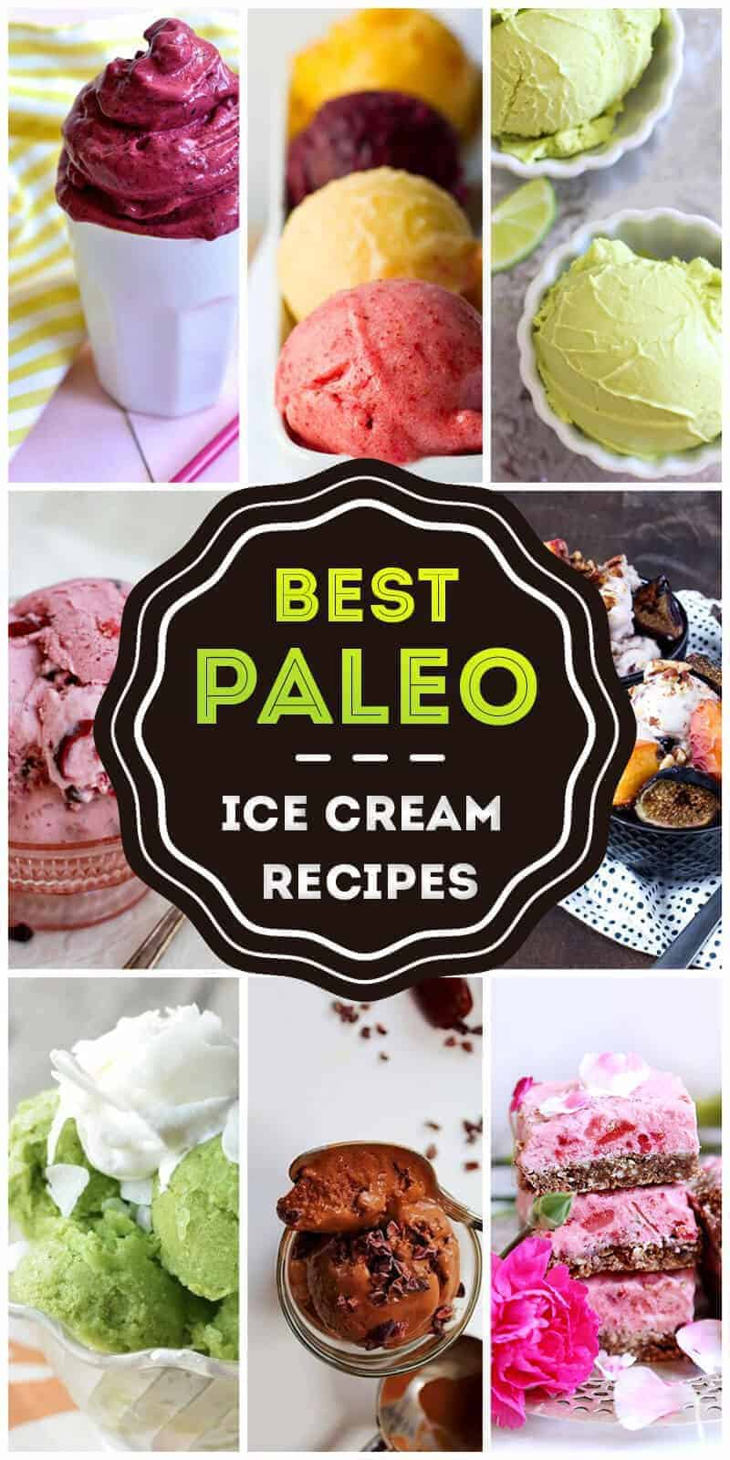 50 Amazing Paleo Inspired Ice Cream Recipes to Die For in 2018