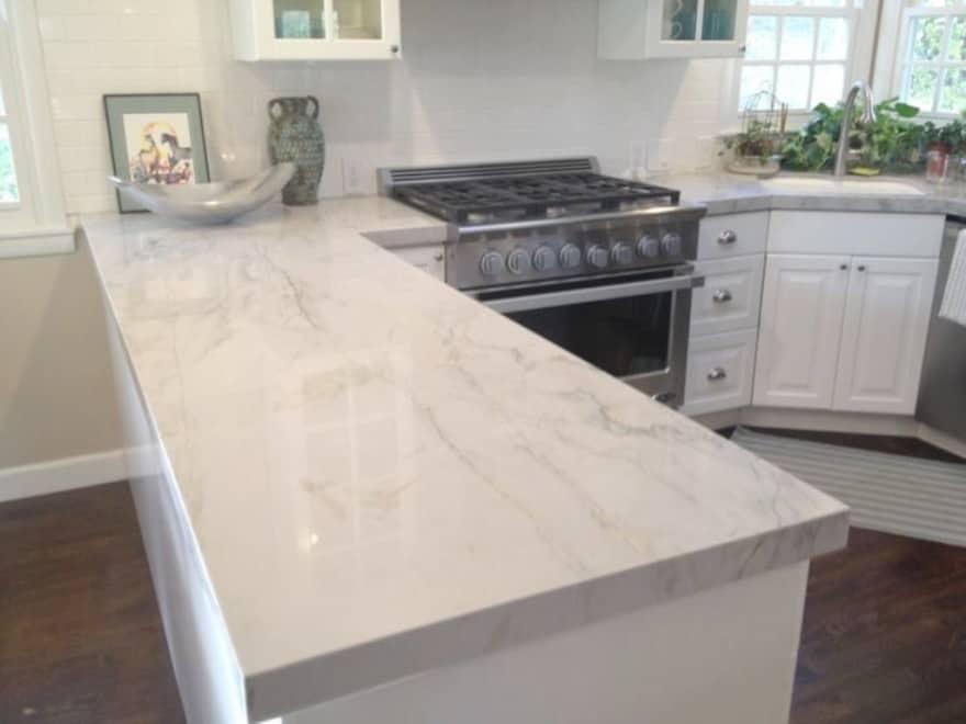 Quartzite in the kitchen