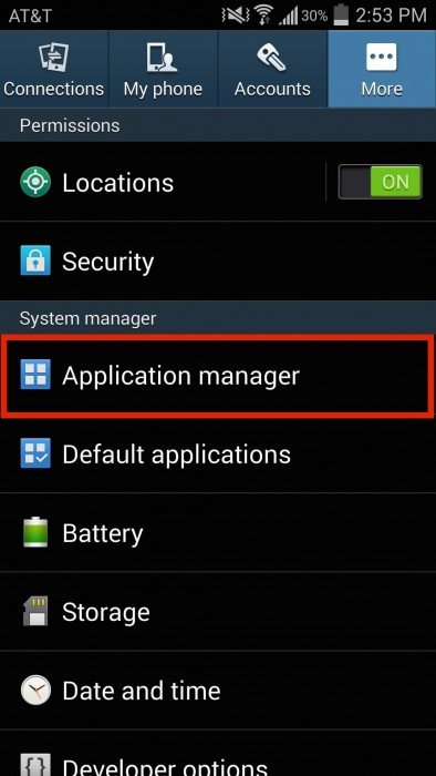 Responsible for the application