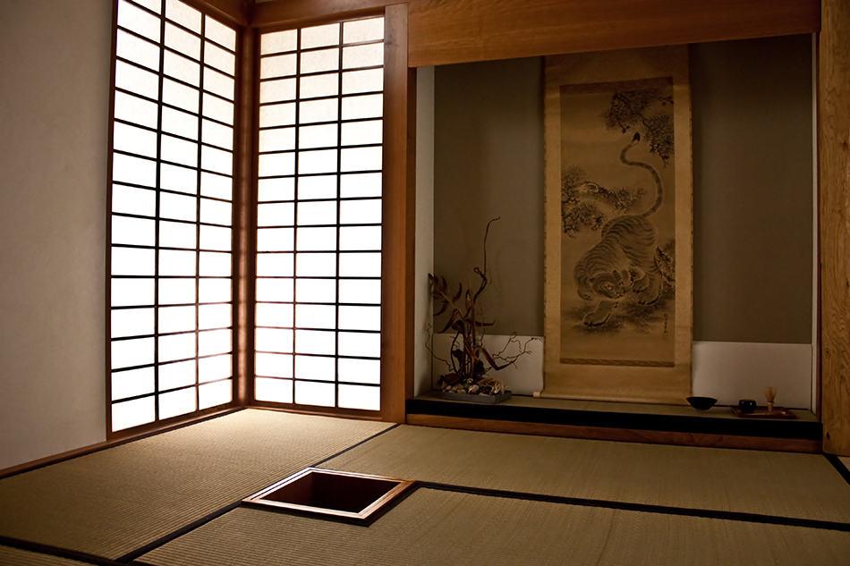 Room dedicated to Zen meditation