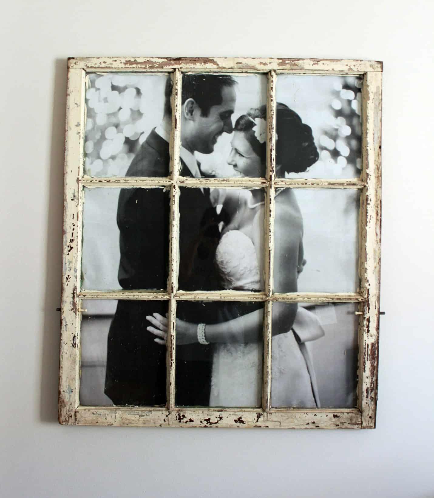 Rustic photo frame