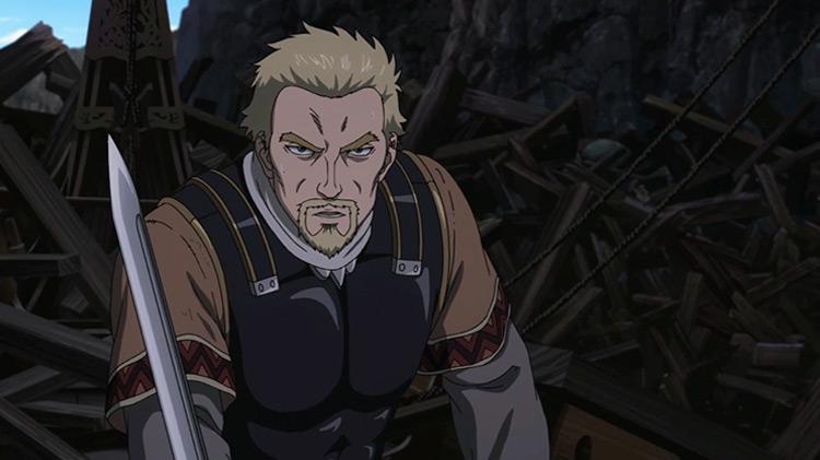 Screenshot of the anime Saga of Askeladd Winland