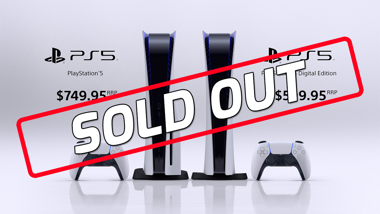 sold ps5