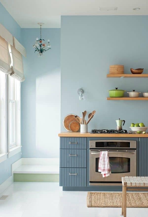 Storage furniture in soft blue (from deardesigner.co.uk)