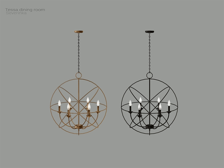 Best Sims 4 Chandelier CC & Mods (All Free) –