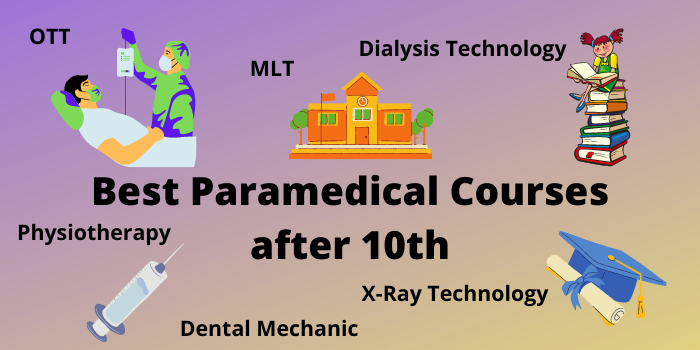 The best paramedic classes after the 10th.