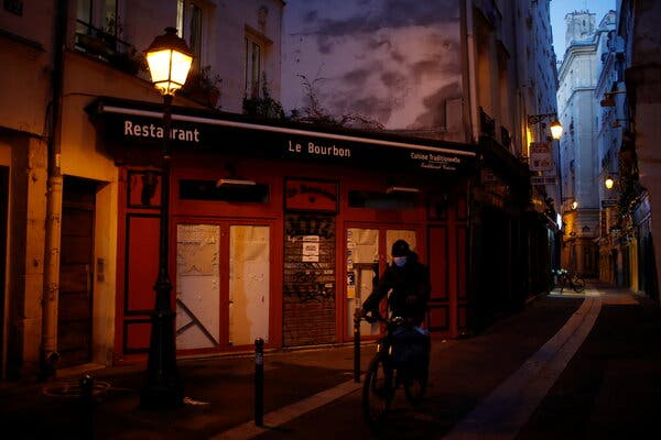 The French Government will pay up to 10 days' leave for each worker dismissed in restaurants, bars, hotels and sports centres which had to remain closed due to the last French closure.