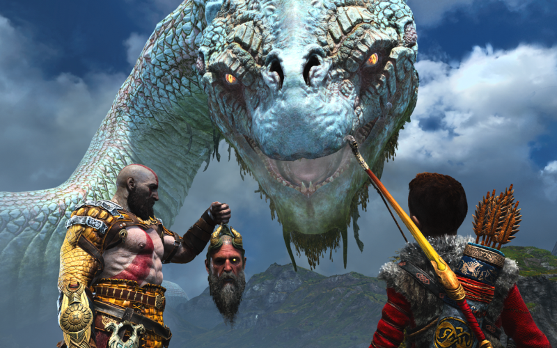 The God of War 1 is the starting point of the GOLD 5 theory [GOLD 4 spoilers and if I am right, GOLD 5 spoilers :) ].