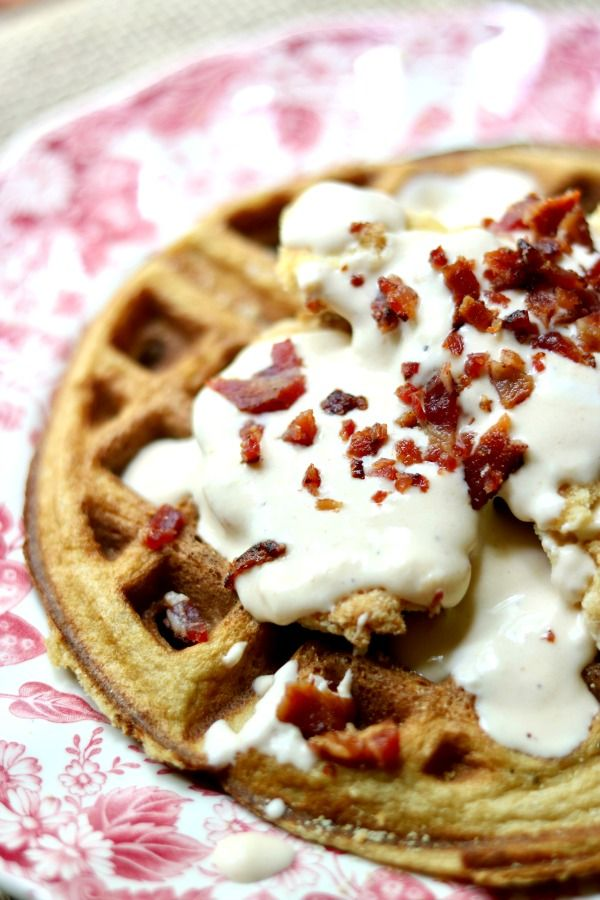 The low-carb chicken and waffle recipe is a dance of sweetness, crunchiness, saltiness, spices and tenderness.