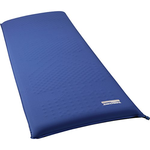 Therm-a-Rest LuxuryMap self-inflating foam camping mattress, large - 25 x 77 inch
