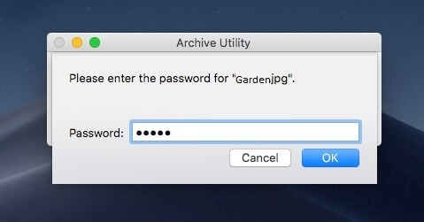 To password-protect a Mac folder