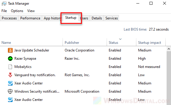 To turn off the Windows 10 Launcher