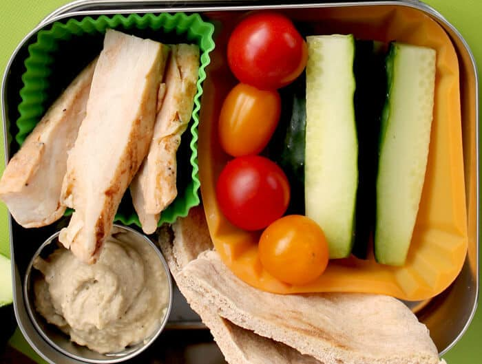 Turkey and bistro snacks.