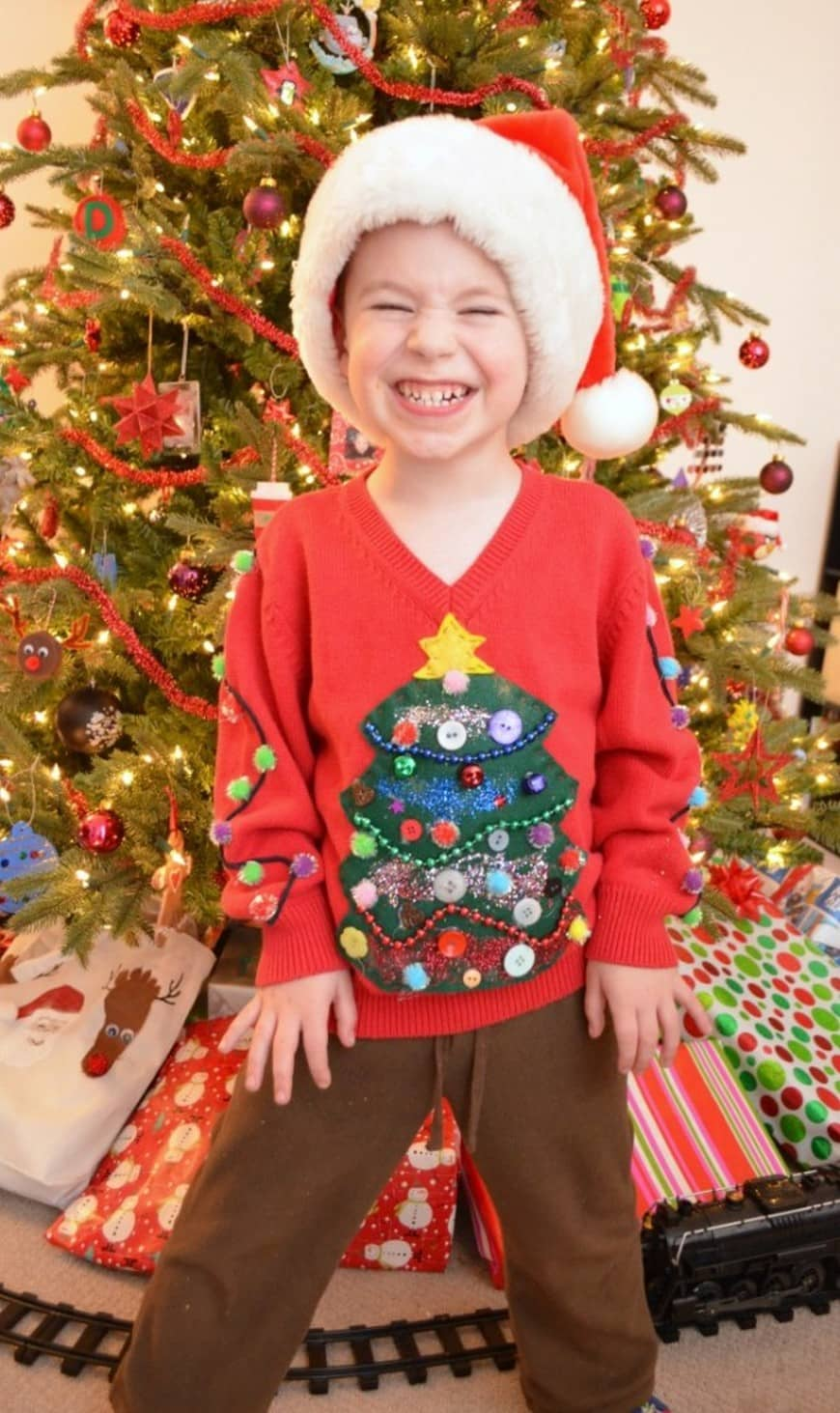 Ugly baby sweater