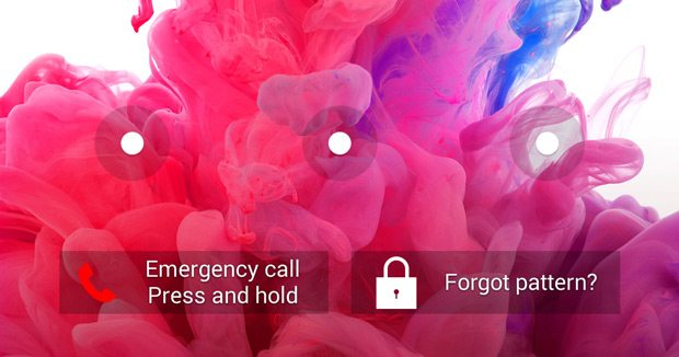 Unlock the LG phone with the Forgotten Pattern function.