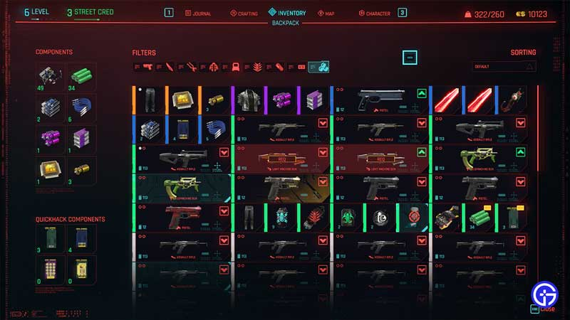 How To Get Upgrade Components In Cyberpunk 2077 (Crafting Guide)