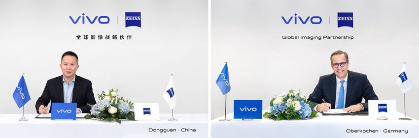 Vivo ZEISS Signing Ceremony