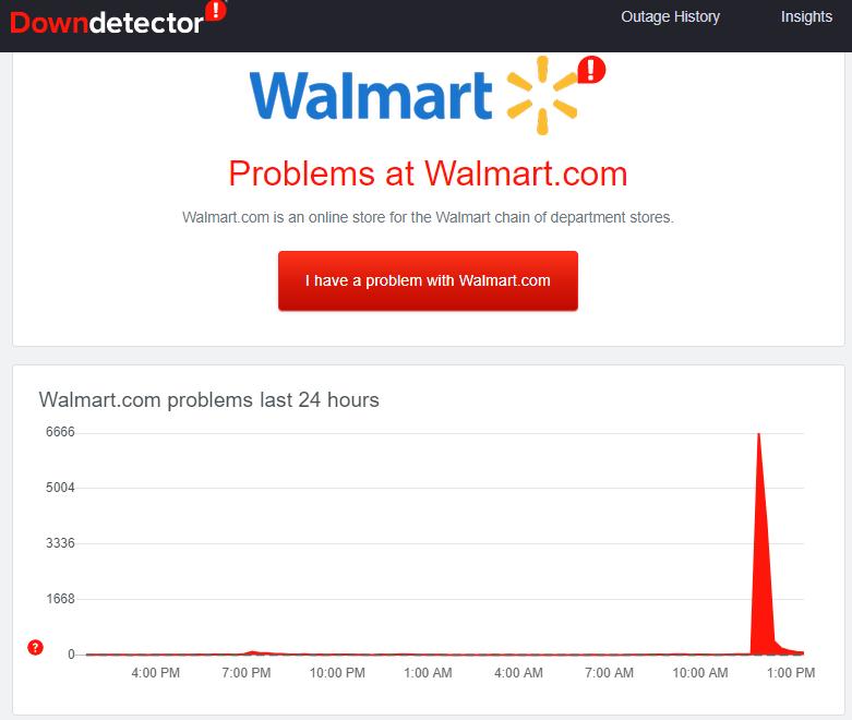 Walmart ps5 crashes