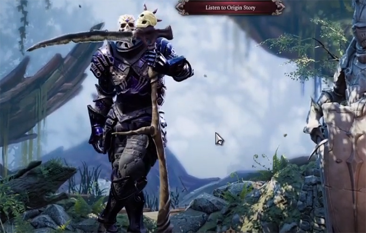 Weapon selection mode for DOS2