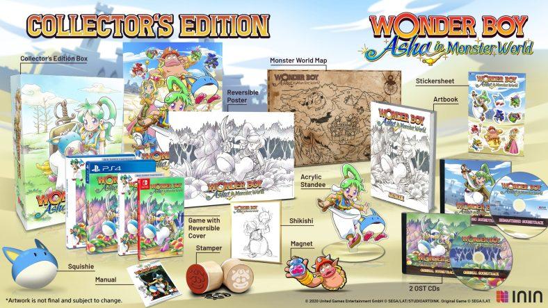 Wonderboy - Asha in Monster World