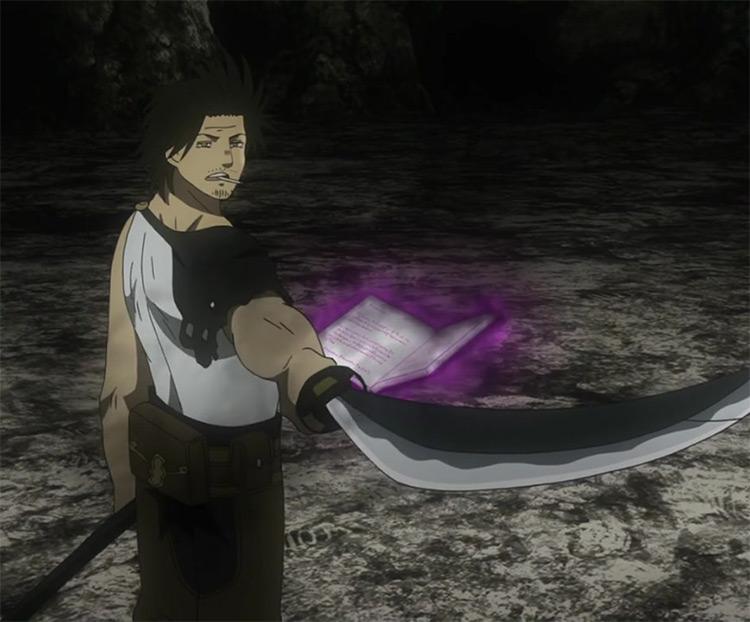 Yami Sukehiro from the anime Black Clover.