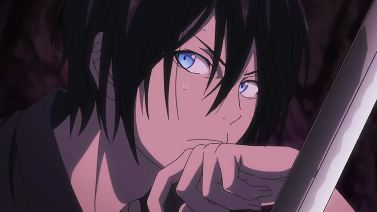 Yato from the anime Noragami