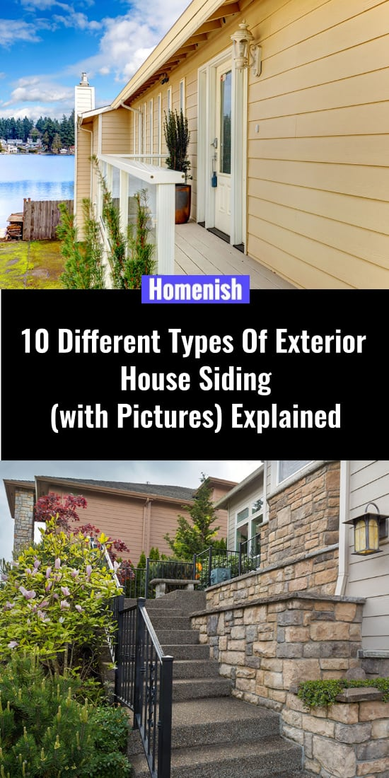 10 different types of cladding for houses (with photos) Explanation
