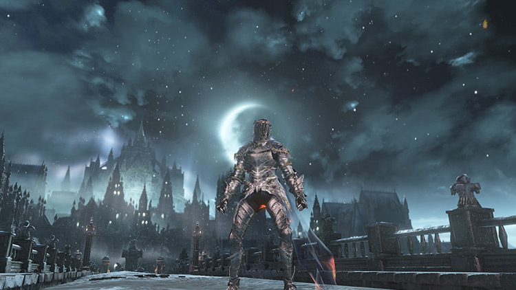 A set for the dancers of Dark Souls 3.