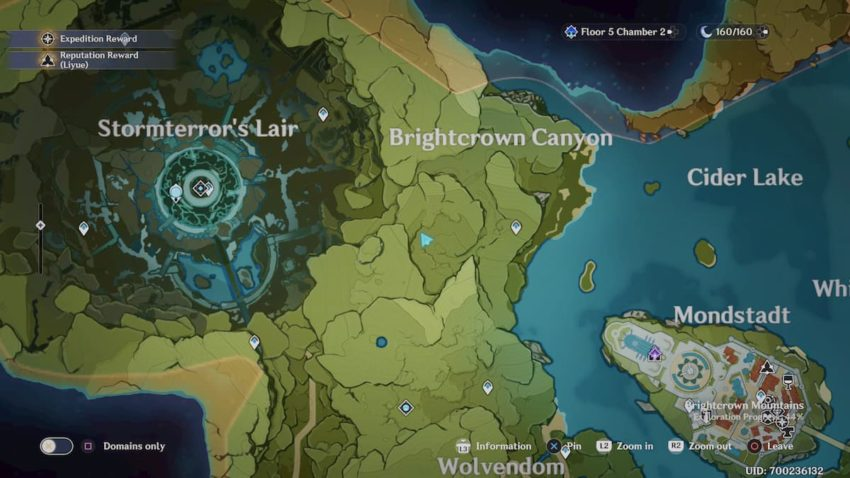 Special Treasure in Genshin Impact Brightcrown Canyon- The Lost Riches