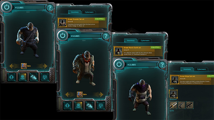 Alternative player outfits for the Shadowrun returns