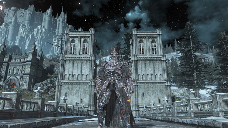 An iron gunman has put dark souls to the test 3