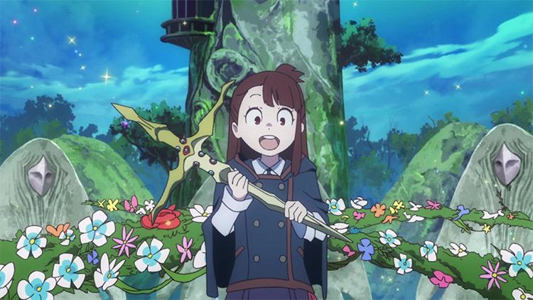 Atsuko Kagari of the Academy of Little Wizards