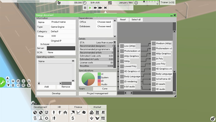 Better Game Mod for Software Inc.