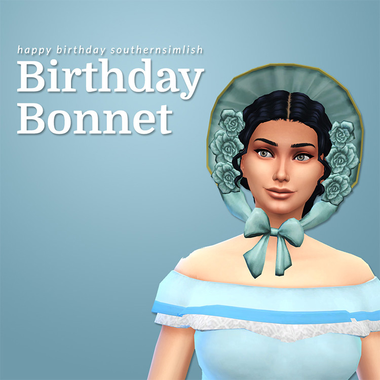 Birthday Hat for The Sims 4