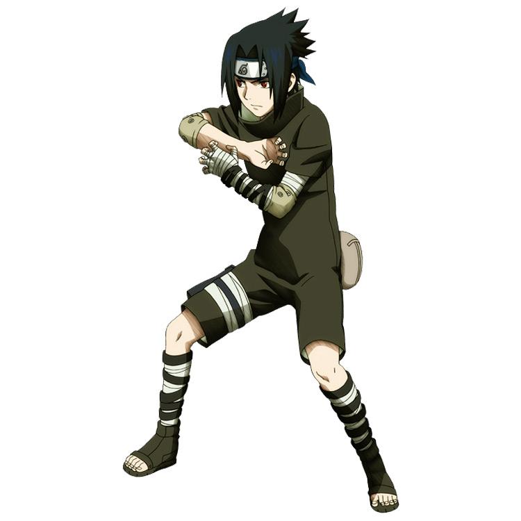 Black costume from the original Naruto anime series.
