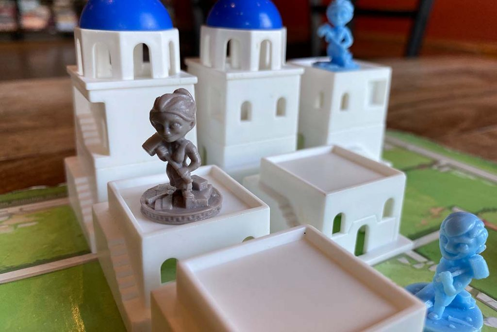 Board game Tower Santorini Building