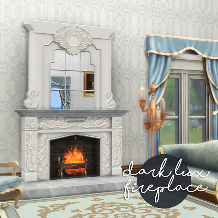 Dark Suite Sims 4 CC Chimney