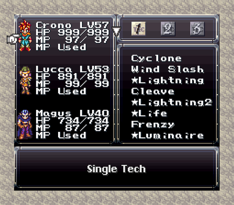 Error correction of the Chrono Trigger and Sensor Removal Set Patch