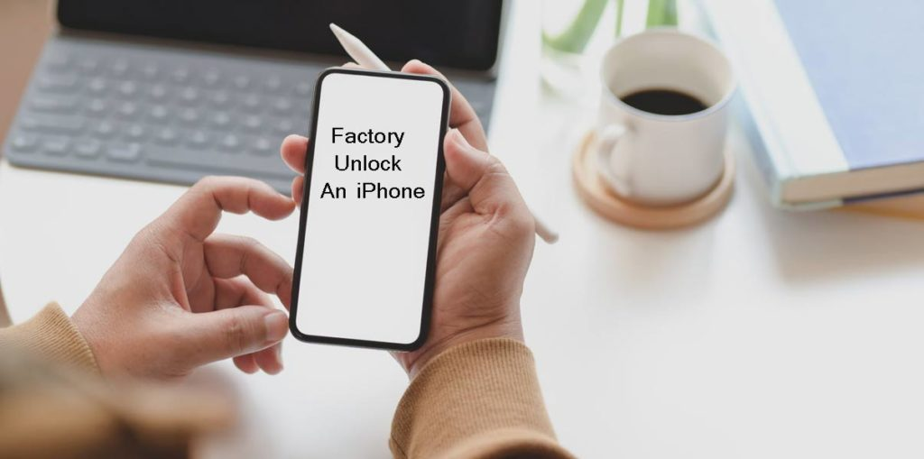 Factory unlocked iPhone