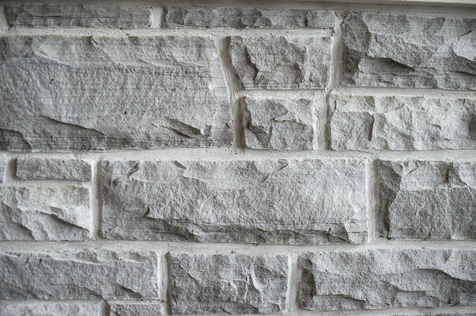 Hard stone cladding