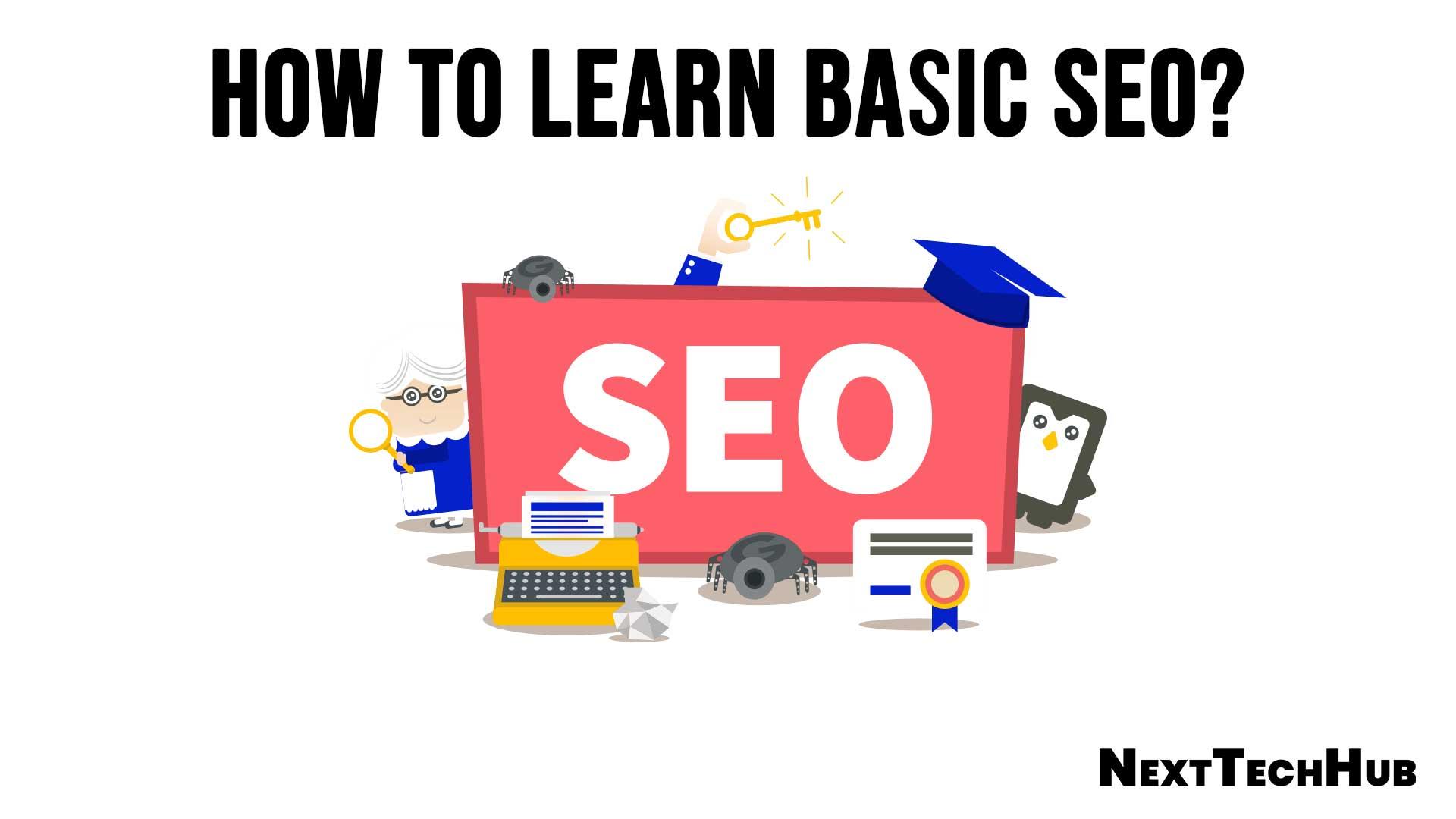 How to learn basic SEO