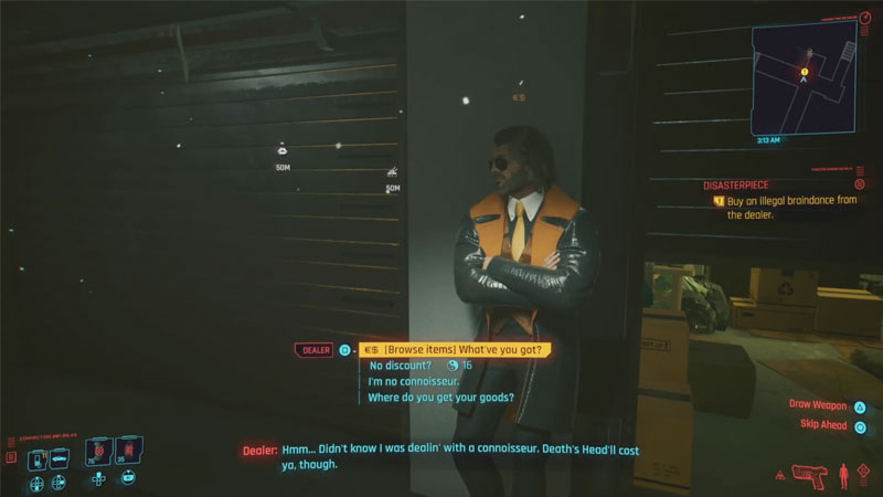 How to complete Disasterpiece Quest Cyberpunk 2077?