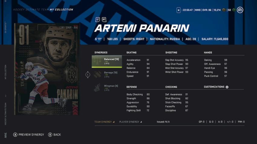 NHL 21: How to complete all HUT Team of the Year master sets