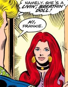 Frankie Raye (Nova) – Who's Who