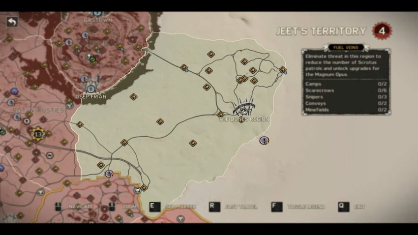 Mad Max: Where to find the Minefields and Convoys location guide