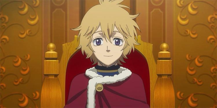 Julius Novachrono of the anime Black Clover