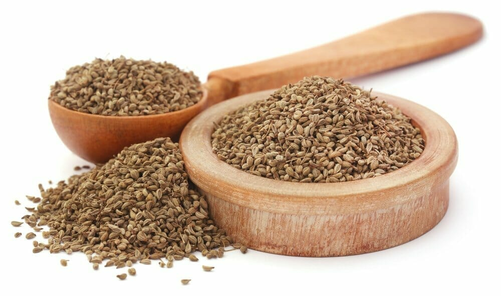 Karom (Ajwain) seeds benefit from the disease.