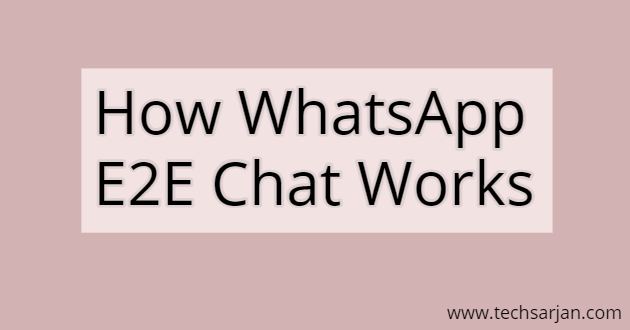 Laying the WhatsApp Worker Chat and Option Leakage Chat