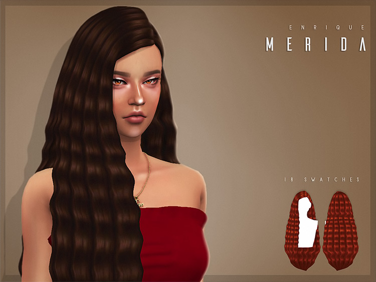 Merida Sims Hairdresser 4 CC