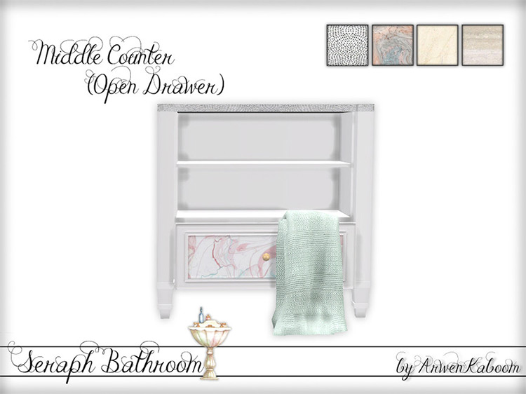 Sims 4 Counters CC & Mods (For Kitchen + Bathroom) –